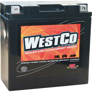 YT14B-4 Westco Motorcycle Battery 12V 12Ah  (12V14B-4)