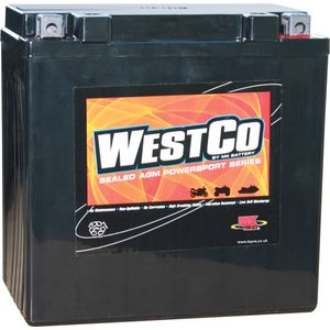 YB16CL-B Westco Motorcycle Battery 12V 19Ah  (12V16CLB)