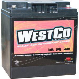 53030 BMW Westco Batterie De Moto 12V 30Ah  (12V30)