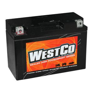 YT9B-4 Westco Motorcycle Battery 12V 8Ah  (12V9B-4)