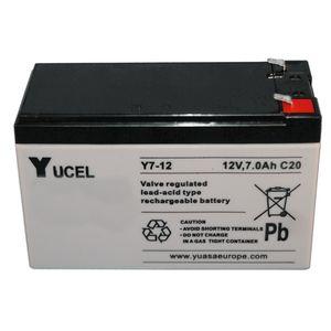 Yuasa Yucel Y7-12 VRLA/AGM Battery