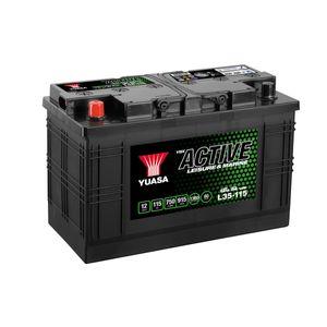 L35-115 Yuasa Leisure Battery 12V 115Ah