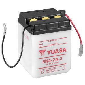 Yuasa 6N4-2A-2 Motorcycle Battery 6V