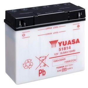 Yuasa 51814 Motorcycle Battery