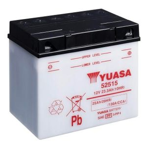 Yuasa 52515 Motorcycle Battery