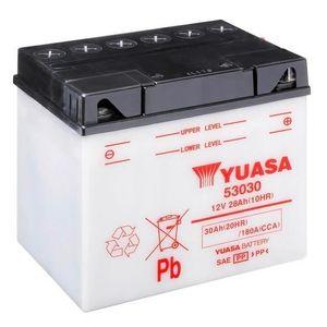 Yuasa 53030 Motorcycle Battery