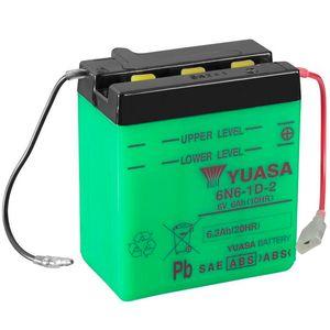 Yuasa 6N6-1D-2 Motorcycle Battery 6V