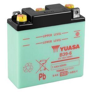 Yuasa B39-6 Motorcycle Battery