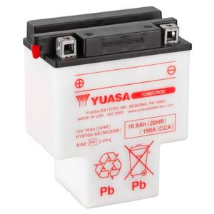 Yuasa HYB16A-AB T Shaped Motorcycle Battery