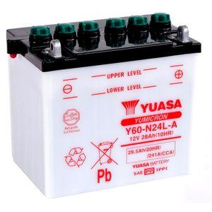 Yuasa Y60-N24L-A Motorcycle Battery