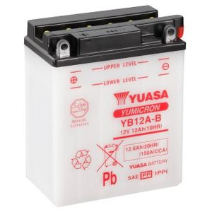 Yuasa YB12A-B Motorcycle Battery
