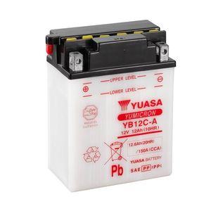 Yuasa YB12C-A Motorcycle Battery