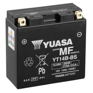 Yuasa YT14B-BS MF Motorcycle Battery
