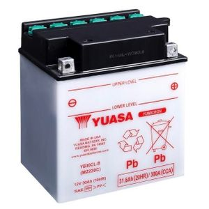 Yuasa YB30CL-B Motorcycle Battery