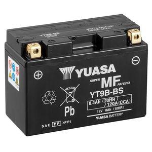 Yuasa YT9B-BS MF Motorcycle Battery
