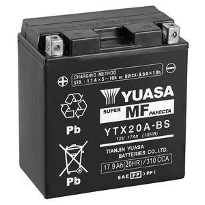 Yuasa YTX20A-BS MF Motorcycle Battery
