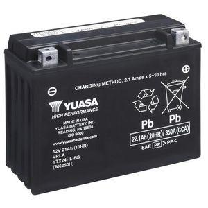 Yuasa YTX24HL-BS High Performance MF Motorcycle Battery
