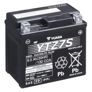 Yuasa YTZ7S High Performance MF Motorcycle Battery
