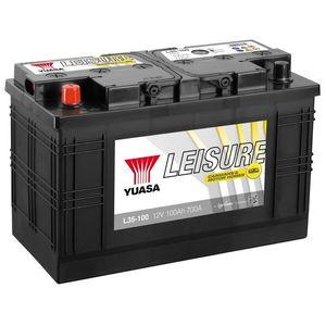 L35-100 Yuasa Leisure Battery 12V 100Ah