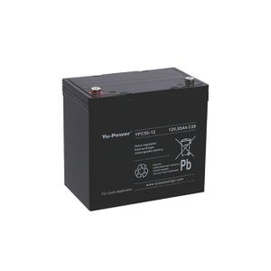 YPC55-12 Yuasa High Performance Heavy Duty Cyclic Mobility Battery