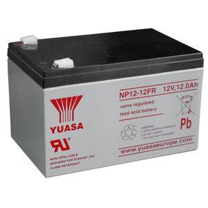 Yuasa NP12-12FR (Flame Retardant) 12V 12Ah Battery