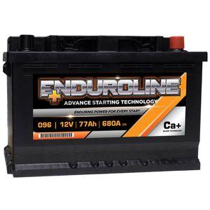 096 Enduroline Car Battery 77Ah