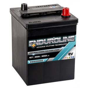 421 Enduroline 6V Classic Car Battery 80Ah