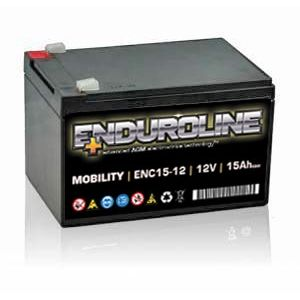 ENC15-12 Enduroline Mobility Battery 12V 15Ah