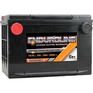 75-70 Enduroline Side Terminal Car Battery 12V 74AH