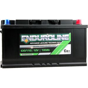 EXV110 Enduroline Calcium Leisure Battery 12V