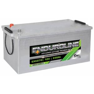 EXV270 Enduroline Heavy Duty Calcium Leisure Battery 12V