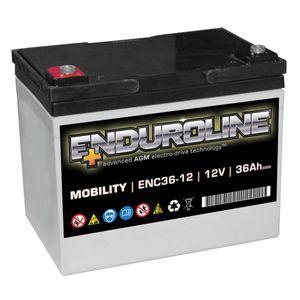 ENC36-12 Enduroline Mobility Battery 12V 36Ah