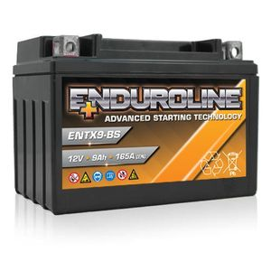 ENTX9-BS Enduroline Advanced Motorcycle Battery 12V 9Ah