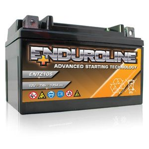 ENTZ10S Enduroline Advanced Motorcycle Battery 12V