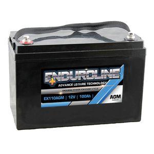 EX110AGM Enduroline AGM Leisure/Marine Battery