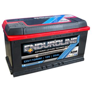 EXV110AGM Enduroline AGM Leisure Battery 95Ah