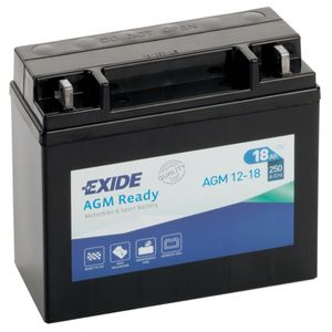 AGM12-18 Exide Motorcycle Battery 12V (4584)