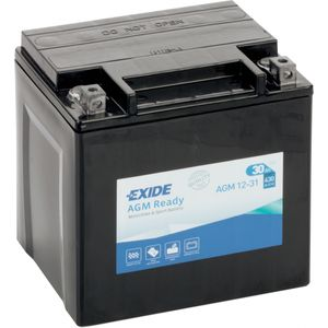 AGM12-31 Exide Motorcycle Battery 12V (4990)