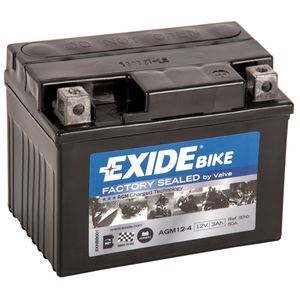 AGM12-4 Exide Motorcycle Battery 12V (4908)
