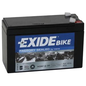 AGM12-7F Exide Motorcycle Battery 12V (4923)