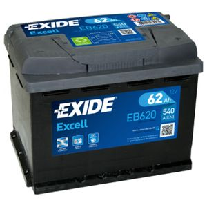 EB620 Exide Excell Car Battery 027SE