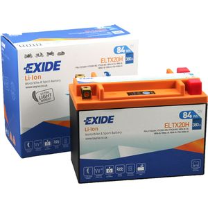 YTX20H-BS Exide Li-Ion Lithium Motorbike Battery 12V ELTX20H