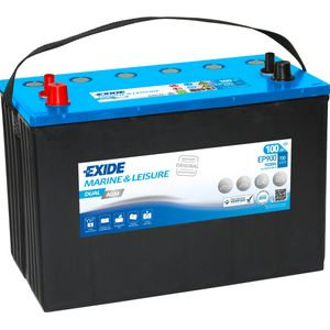 Exide EP900 DUAL AGM Leisure Marine Battery