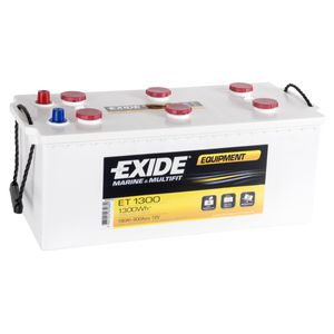ET1300 Exide Equipment Marine and Multifit Leisure Battery