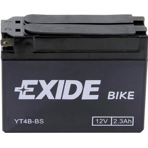 Exide ET4B-BS 12V Motorcycle Battery YT4B-BS