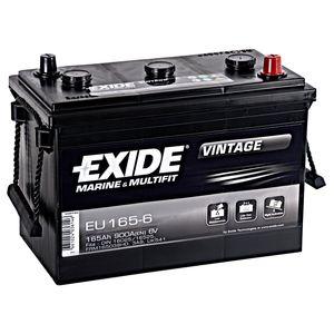 EU165-6 Exide Vintage Marine and Multifit Leisure Battery