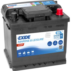EN500 Exide Start Marine and Multifit Leisure Battery