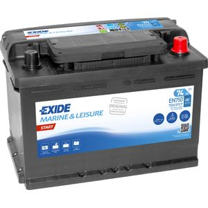 EN750 Exide Start Marine and Multifit Leisure Battery