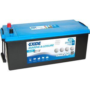 Exide EP2100 DUAL AGM Leisure Marine Battery