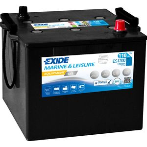 ES1200 Exide G110 Marine and Multifit Gel Leisure Battery 110Ah